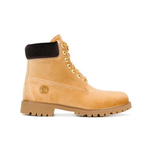ec6e7d2b93aa ... Off-White X Timberland Lace Up Boots ...