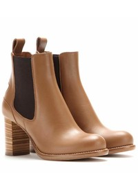 Chloé Bernie Leather Chelsea Boots