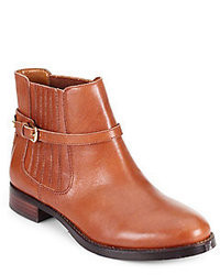 Ivanka Trump Leather Chelsea Boots