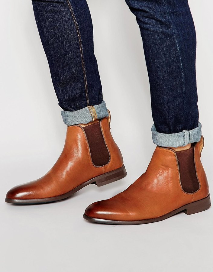 032504bff6315 ... Tan Leather Chelsea Boots Aldo Merin Leather Chelsea Boots ...