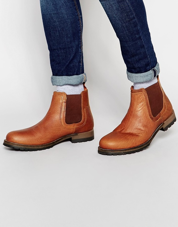 1b8861bfd0f $90, Red Tape Leather Chelsea Boots