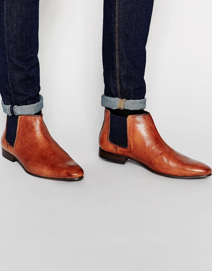 ... Leather Chelsea Boots Walk London Mark Chelsea Boot ...