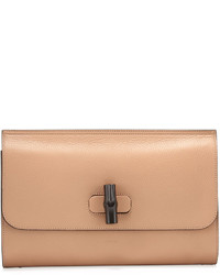 c16237224cd3 Women's Tan Leather Clutches by Gucci | Women's Fashion | Lookastic.com
