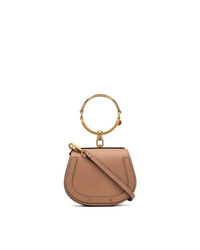 Chloé Beige Nile Mini Leather Bracelet Bag