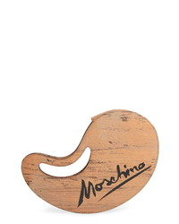 Moschino Paint Palette Calfskin Leather Clutch