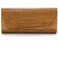 Zena wood panel clutch medium 620766