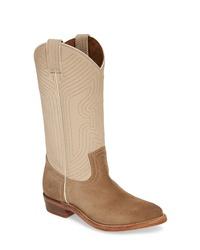 Frye Billy Leather Western Boot