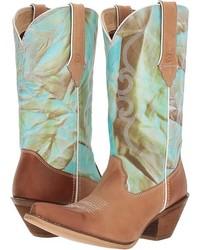 Durango Crush 12 Fancy Stitch Cowboy Boots