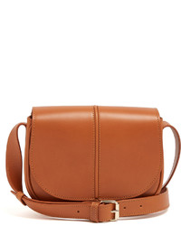 A.P.C. Betty Leather Cross Body Bag