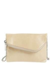 Daria leather crossbody bag brown medium 619032