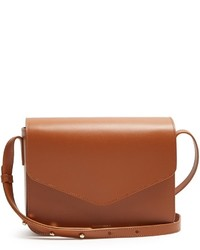 Mansur Gavriel Envelope Leather Cross Body Bag