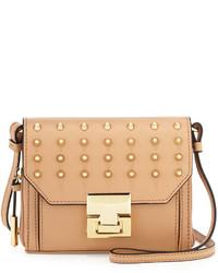 Ivanka Trump Hopewell Leather Crossbody Bag Palomino