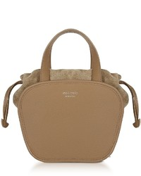 Meli-Melo Meli Melo Rosetta Light Tan Leather Crossbody Bag
