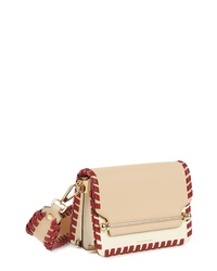 STRATHBERRY Mini Eastwest Stitch Leather Shoulder Bag