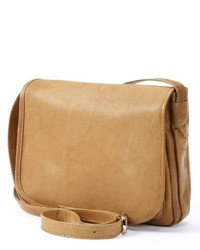 Rr Leather Flap Leather Crossbody Bag