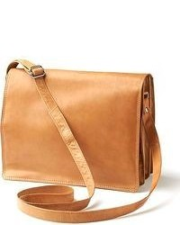 Rr Leather Organizer Flap Leather Crossbody Bag