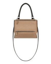 Givenchy Small Pandora Box Tricolor Leather Crossbody Bag