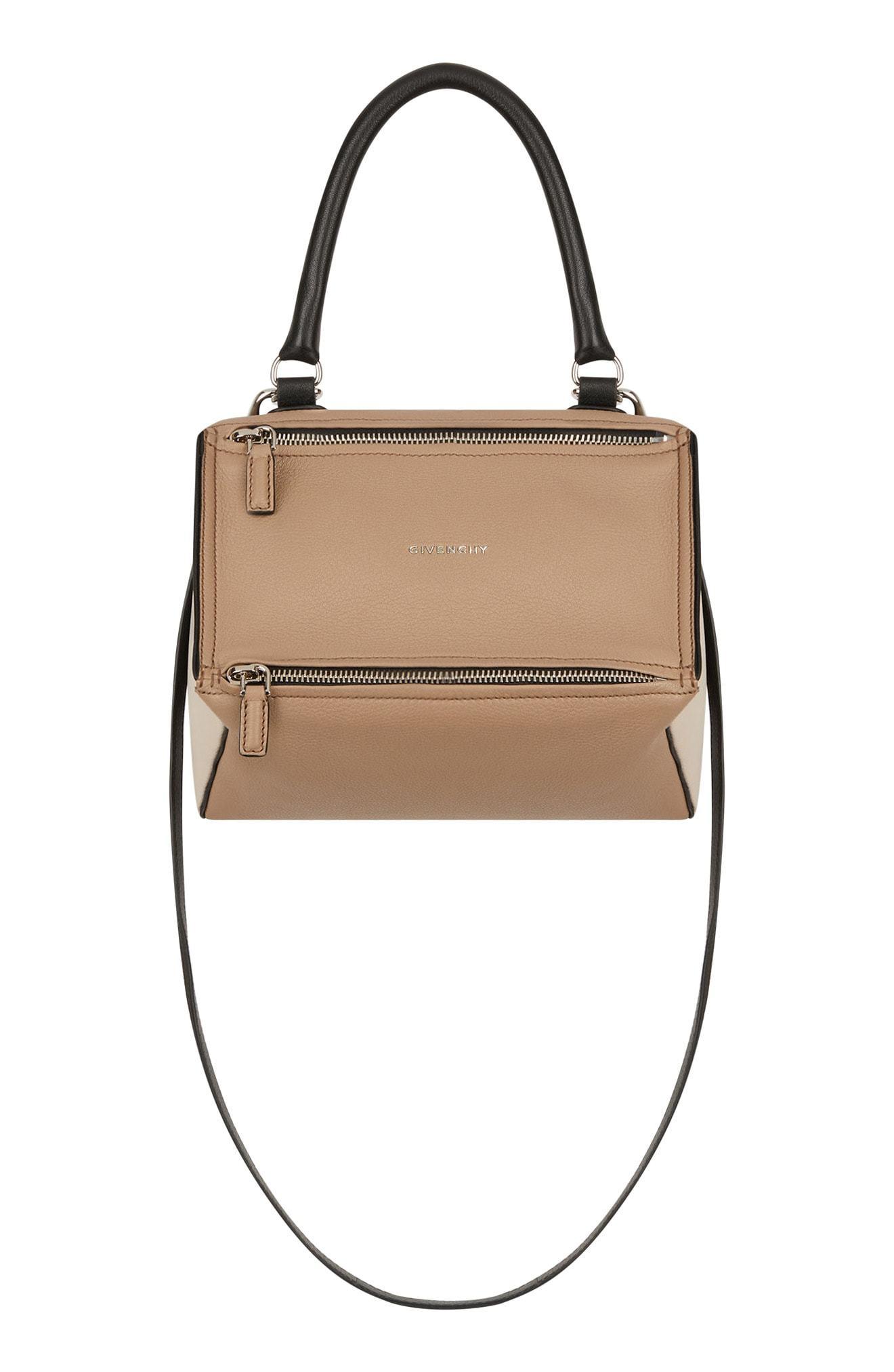 e03d4465436 Givenchy Small Pandora Box Tricolor Leather Crossbody Bag, $1,990 ...