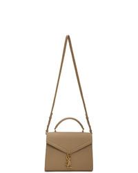 Saint Laurent Taupe Medium Cassandra Bag