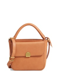 Madewell The Mini Abroad Leather Crossbody Bag