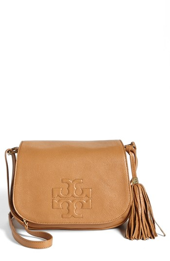 62e2c72aeb3d Lyst Tory Burch Marion Slouchy Leather Tote Bag Royal Tan In Brown