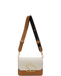 3.1 Phillip Lim White And Black Mini Alix Shoulder Bag