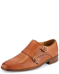 Giraldo monk strap loafer british tan medium 113170