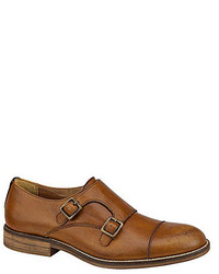 J M Est 1850 Decatur Double Monk Strap Loafers