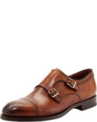Medallion toe double monk shoe medium 24596