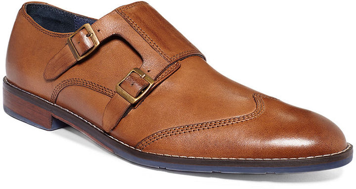 Hush Puppies Style Monk Strap Shoes 135 Macy S Lookastic Com