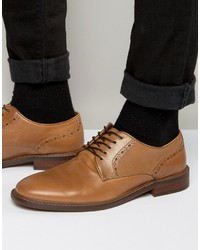 Aldo Cargle Oxford Shoes In Tan Leather