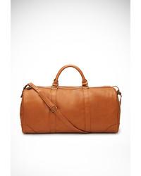 Faux leather weekender bag medium 204141