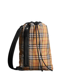 Burberry Medium Vintage Check Cotton Duffle Bag
