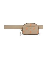 Chloé Studded Embroidered Leather Belt Bag