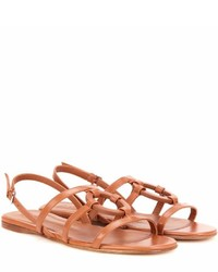 Loro Piana Cleone Leather Sandals