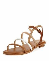 82813bfcf84 Michl Michl Kors Mahari Leather Flat Thong Sandal Out of stock · MICHAEL  Michael Kors Michl Michl Kors Nantucket Strappy Flat Sandal Brown