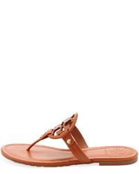 c87146a731a39b ... Tory Burch Miller Logo Flat Thong Sandal ...