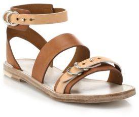 5126f0fab09 $325, Rag and Bone Rag Bone Lara Flat Leather Sandals