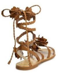 eb48cdc4214db ... Tory Burch Blossom Gladiator Leather Sandals