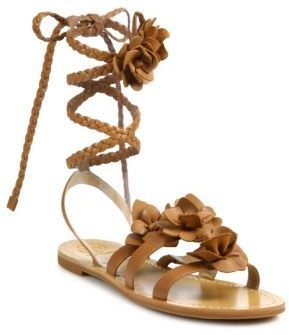 0be527e2ddd ... Tory Burch Blossom Gladiator Leather Sandals ...