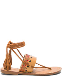 Soludos Flat Lace Up Sandal