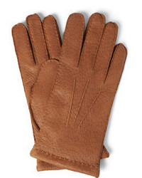 Hestra Cashmere Lined Leather Gloves