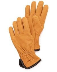 Lined goatskin gloves medium 7160