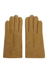 Lemaire Tan Deerskin Gloves