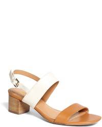 Brooks Brothers Low Stacked Sandals