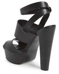 42a7d8910e5 ... Steve Madden Dezzzy Leather Ankle Strap Sandal