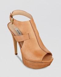 GUESS Open Toe Sandals Ofria High Heel