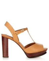See by Chloe See By Chlo T Bar Leather Sandals