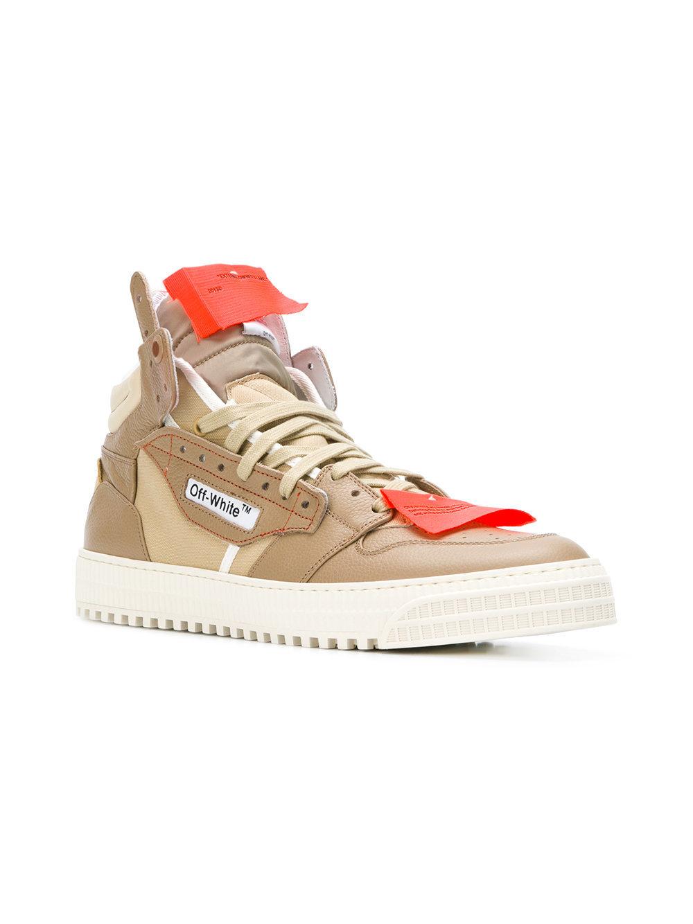 30 Hi Top Sneakers, $553   farfetch