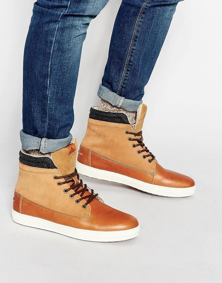 Aldo Divi Leather High Tops, $154